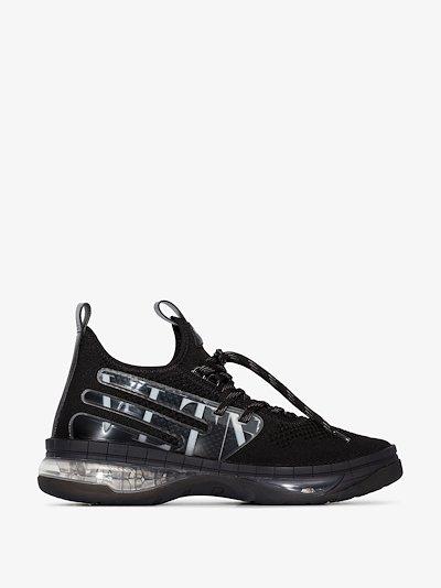 black Cloudknit Air sneakers