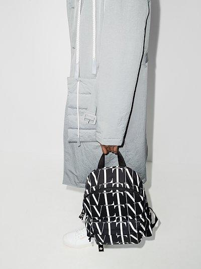 black VLTN Times backpack