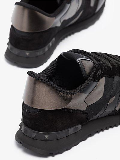 metallic Rockrunner camouflage sneakers