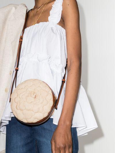 neutral 03 Rose Edition Atelier canvas cross body bag