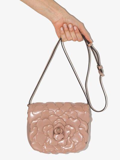 Pink 03 Rose Edition Leather Shoulder Bag