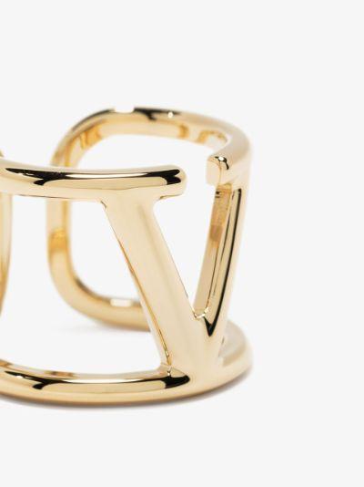 VLOGO Signature metal ring