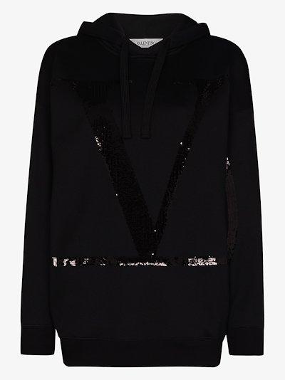 VLOGO signature hoodie