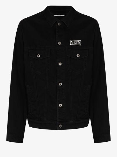 VLTN appliqué denim jacket