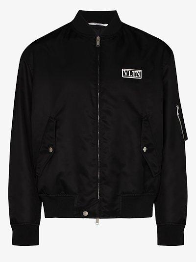 VLTN Logo bomber jacket