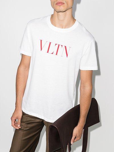 VLTN logo print T-shirt