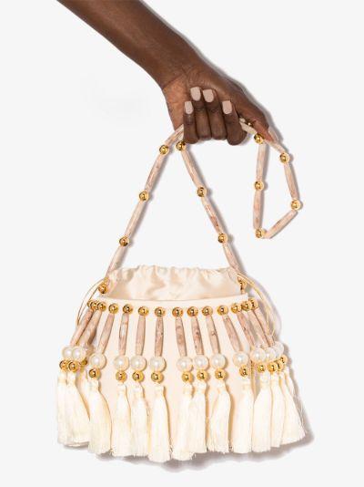 Cream Palais Royal shoulder bag