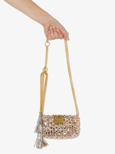 Gold tone The Meristem mini bag