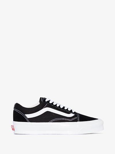 black old skool sneakers