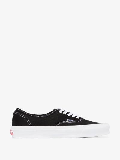 black UA OG authentic sneakers