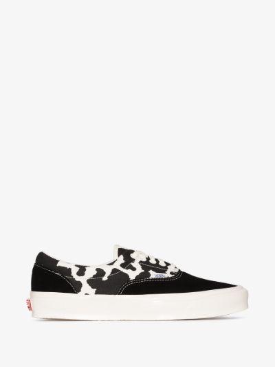 Black UA OG Era LX Animal Print Sneakers