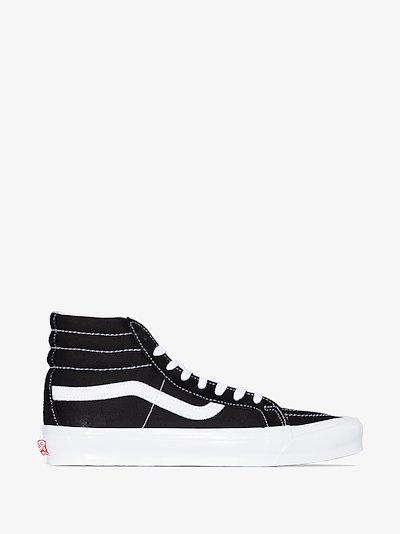 Black UA OG Sk8-Hi LX Sneakers