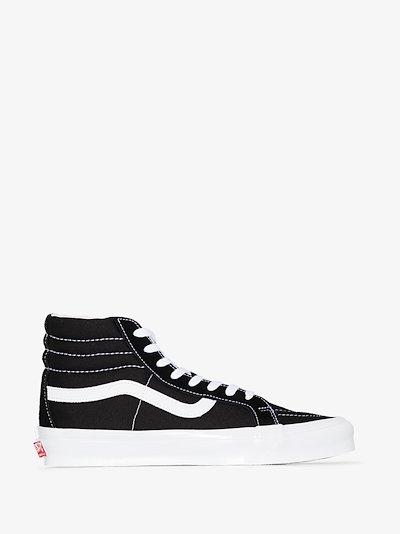 Black UA OG SK8-Hi LX suede sneakers