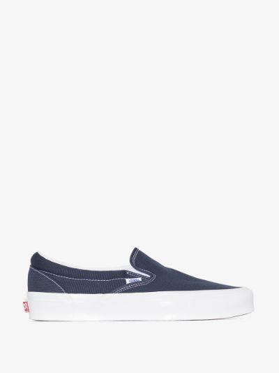 blue OG Classic LX Slip-On sneakers