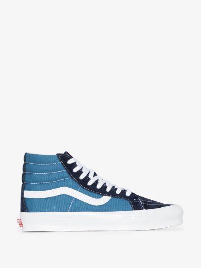 blue UA OG SK8-Hi LX sneakers