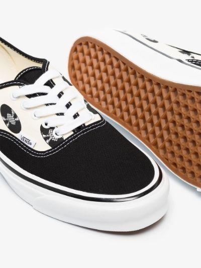 X Wacko Maria black and white UA OG Authentic LX printed sneakers