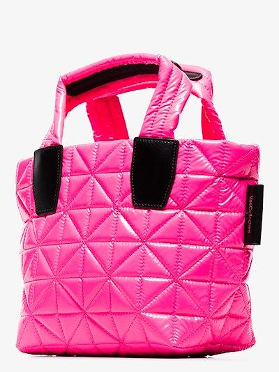pink Vee mini tote bag