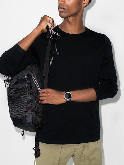 black Frame long sleeve T-shirt