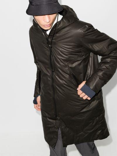 Black Monitor parka coat