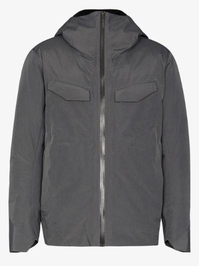 grey Node down jacket