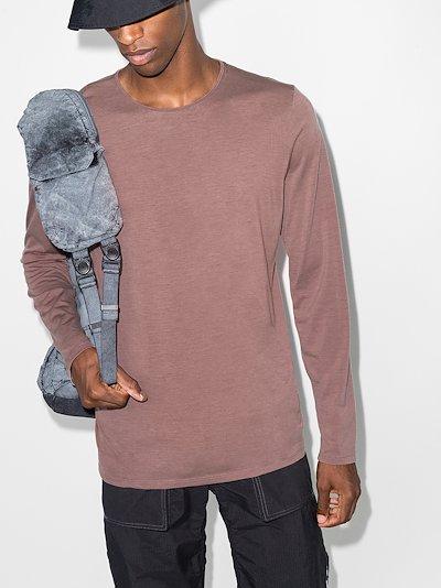 purple Frame long sleeve T-shirt