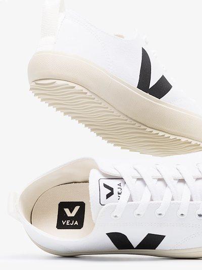 White Nova canvas sneakers