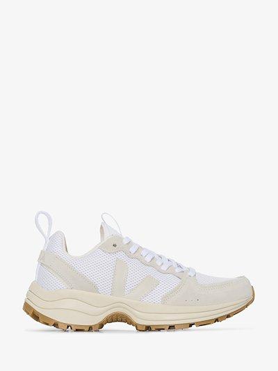 white ventura suede sneakers