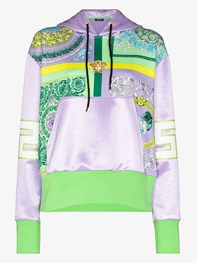 Baroque Mosaic print hoodie
