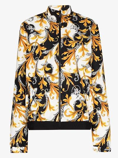 Baroque print track jacket