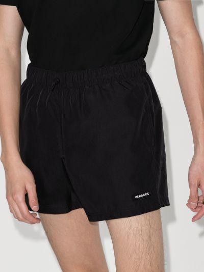 Baroque Print track shorts
