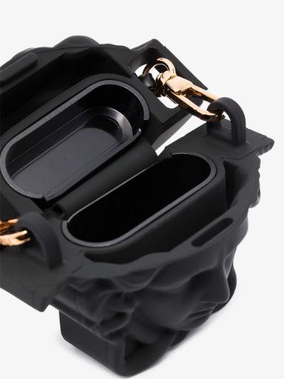black La Medusa AirPods case