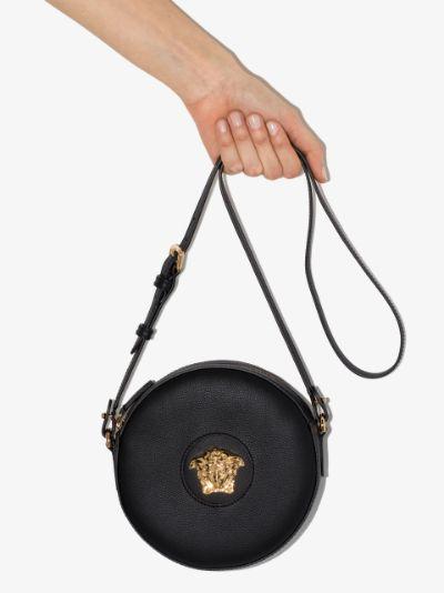 black La Medusa round camera bag