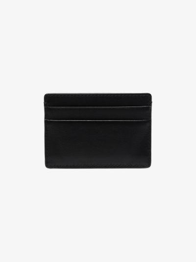 Black Medusa Leather Card Holder