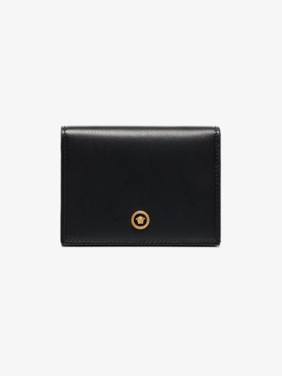 black Medusa leather wallet