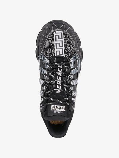 black Trigreca Low Top Sneakers
