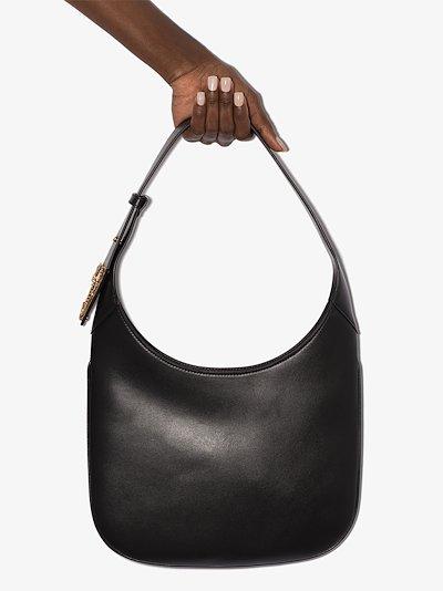 black Virtus saddle shoulder bag