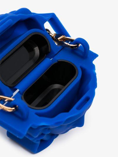 blue la medusa AirPods case