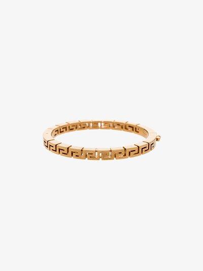gold tone Greca bracelet