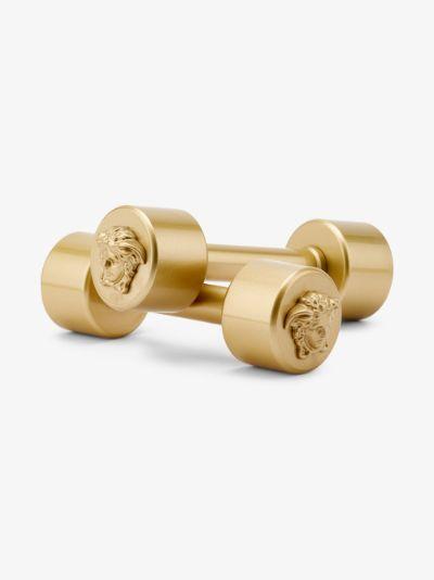 gold tone Medusa 3KG weights set