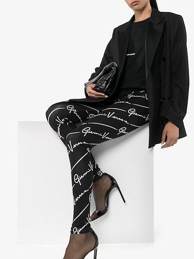 GV Signature print leggings