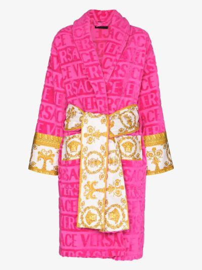 I Heart Baroque cotton robe