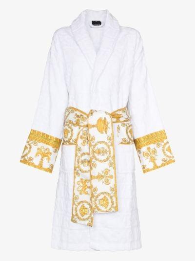 I Love Baroque cotton robe