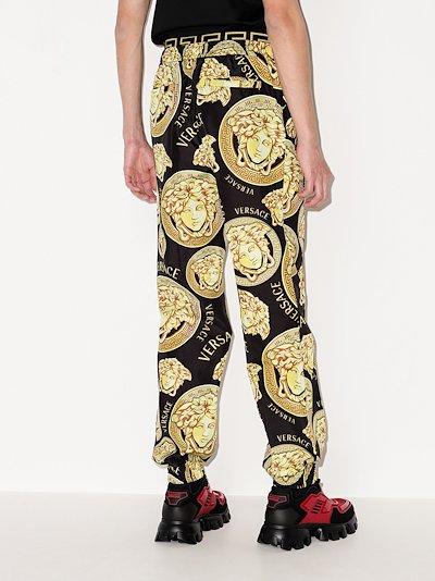 Medusa Amplified print track pants