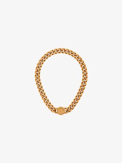 Medusa chainlink necklace
