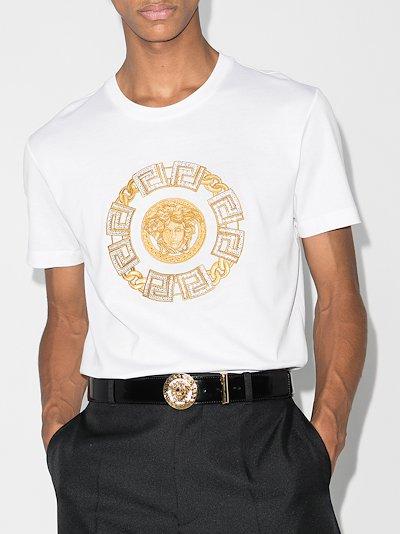 Medusa embroidered t-shirt