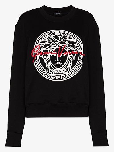 Medusa GV Signature print sweatshirt