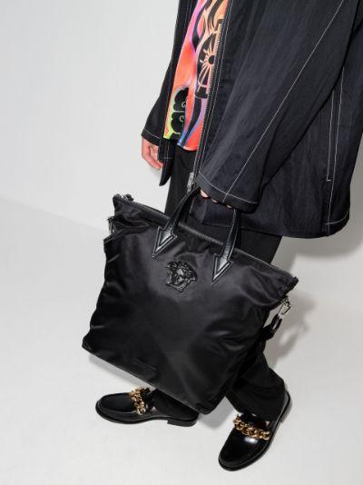 Medusa-head tote bag
