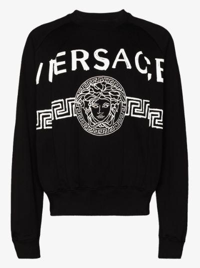 Medusa motif sweatshirt