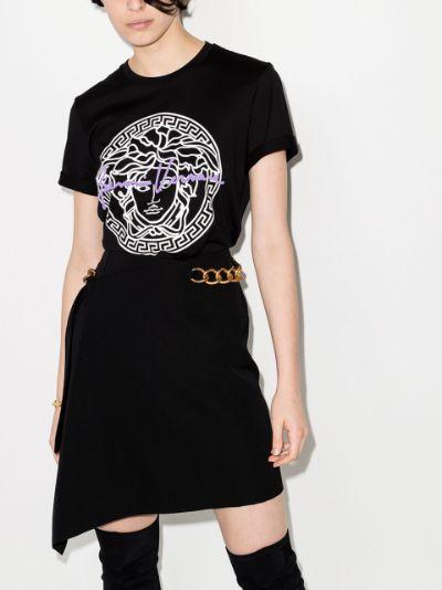 Medusa print cotton T-shirt