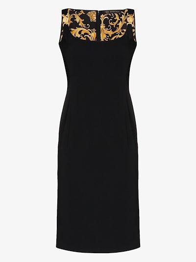 Medusa strap sleeveless dress